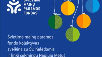 """""""Nordplus"""" komanda sveikina jus su šventėmis!"""